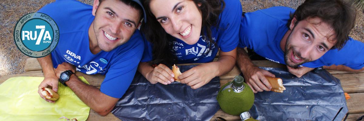 Empresa de salud Ruta7 Chicos con porta bocadillos reutilizables
