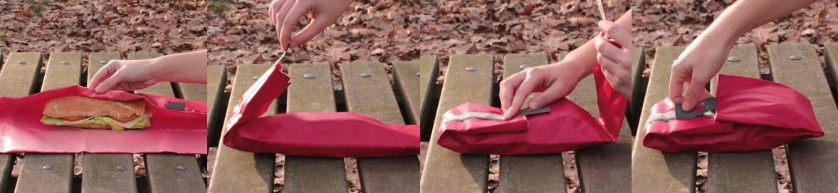 Boncnroll: imagen del porta bocadillo de Rolleat