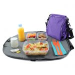 Porta tuppers lila para picnic rolleat
