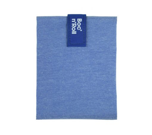 porta bocadillo ecologico meriendas azul