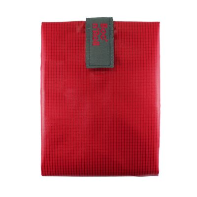 porta bocadillos rojo reutilizable rolleat