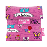 snack bag princess pink