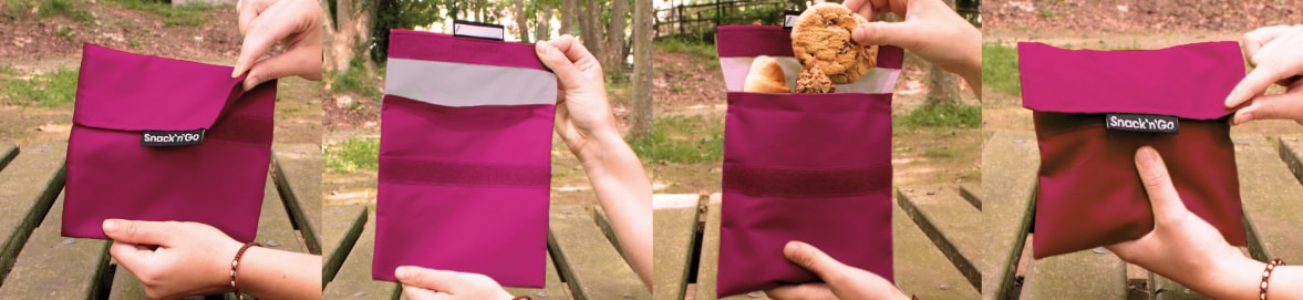 bolsa para la merienda Snack'n'Go