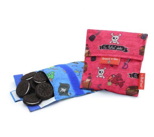 porta snacks para niños estampado piratas