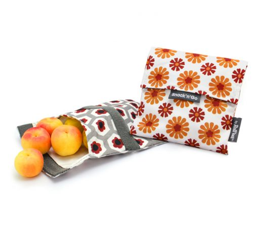 snack pocket with barcelona tiles pattern