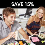 Discount of 15% for the purchase of reusable products