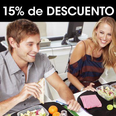 15% de descuento para porta alimentos reutilizables Rolleat