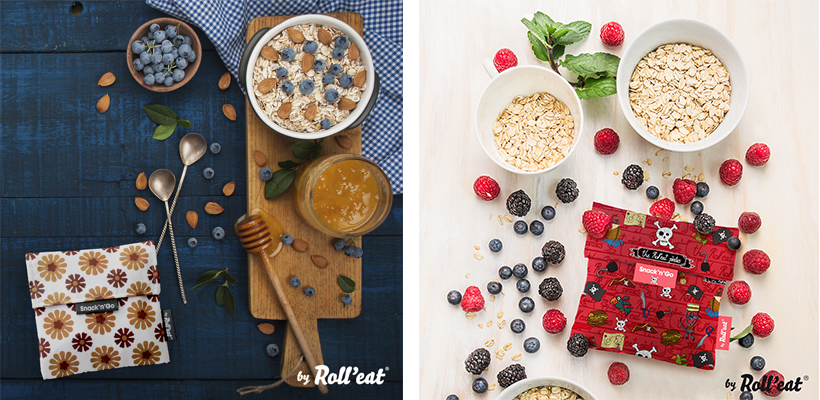 Desayunar cereales y llevar snack en e bolso