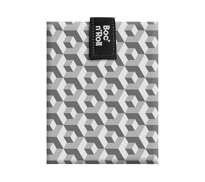 Sandwich Wrapper Bocnroll Tiles Black