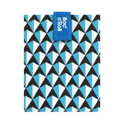Sandwich Wrapper Bocnroll Tiles Pack Blue