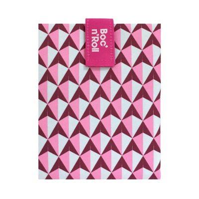 Sandwich Wrapper Bocnroll Tiles Pack Pink