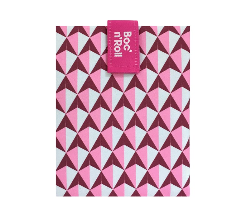 Sandwich Wrapper Bocnroll Tiles Pack Pink