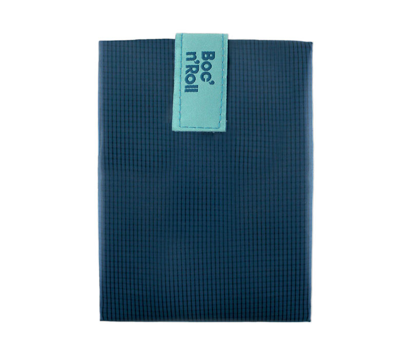 Sandwich Wrapper Bocnroll Square Pack Blue