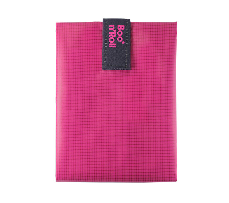 Sandwich Wrapper Bocnroll Square Pack Pink