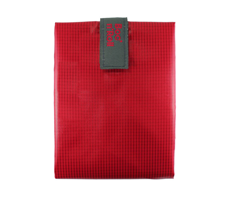 Sandwich Wrapper Bocnroll Square Pack Red
