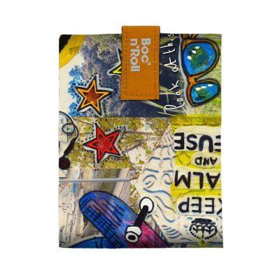 Sandwich Wrapper Bocnroll Teens Monkey Pack A