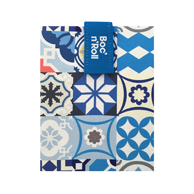 Sandwich Wrapper Bocnroll Tiles Pack Blue