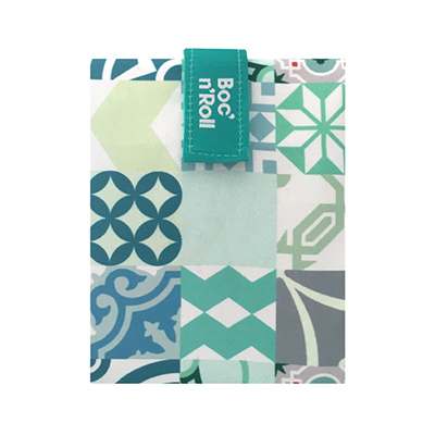 Sandwich Wrapper Bocnroll Tiles Pack Green