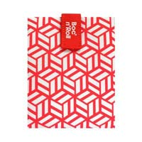 Sandwich Wrapper Bocnroll Tiles Pack Red
