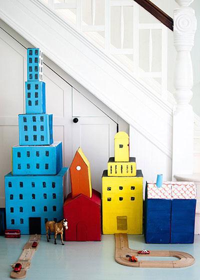 formas de reutilizar juguetes ciudad